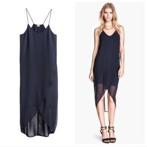 H&M Wrap Chiffon Dress